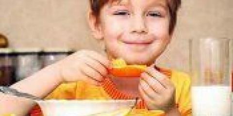 Здорове і правильне харчування для дітей